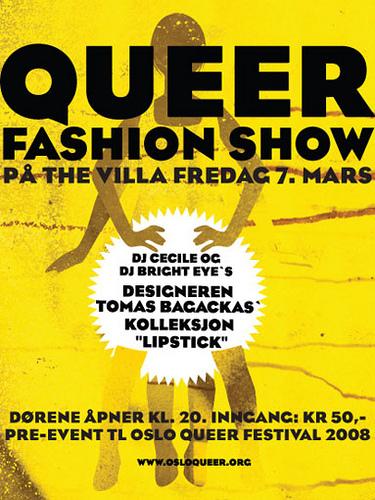 Oslo Queer Festival Fashin Show